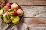 Fototapety various fresh fruits