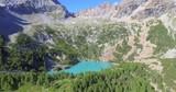 Aerial 4k - Valmalenco (IT) - Valtellina - Lagazzuolo - 1992 slm - Rifugio Alpini