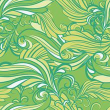 seamless en vert