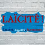 Graffiti laïcité