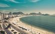 Quadro Copacabana Beach and Sugar Loaf Mountain in Rio de Janeiro