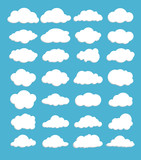 Vector of Clouds set for design work - 118783512