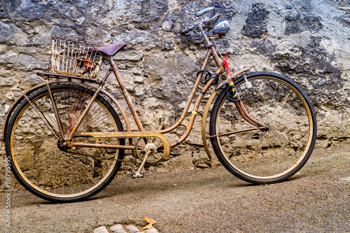 Fotobehang Fiets Vintage Fahrrad