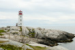 Peggys Cove Lighthouse - Nova Scotia - Canada