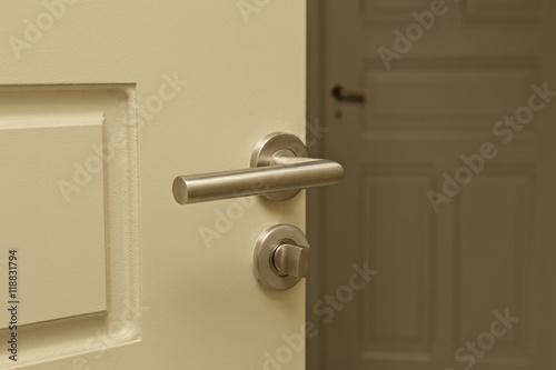 Poster poignée de porte intérieur maison