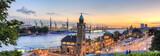 Fototapety Hamburg Landungsbrücken