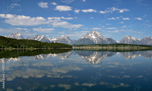 canvas print picture Jackson Lake