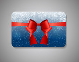 Beautiful Gift Card. Vector Illustration