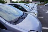 たくさんの車 駐車場 パーキング