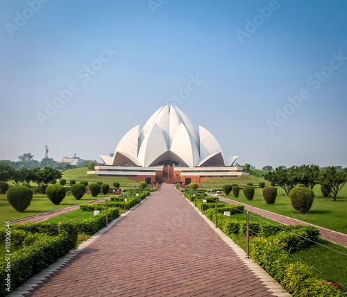 Staande foto India Bahai Lotus Temple - New Delhi, India