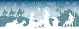 Fototapety Christmas Header Background