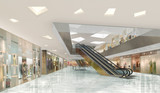 3d illustration of a shopping mall - 118960742