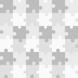 Seamless grey pattern Puzzle