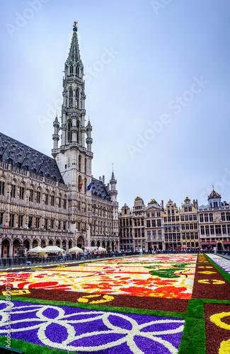 Foto Spatwand Brussel Grand Place à Bruxelles