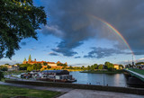 Rainbow over Krakow