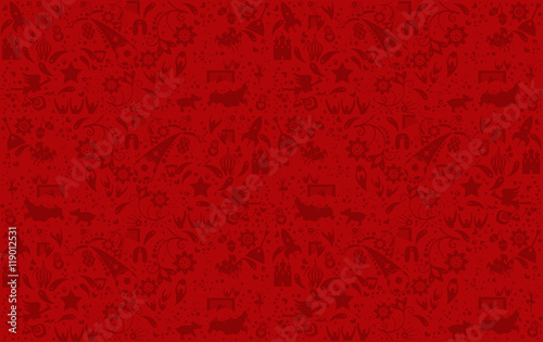 Vector red background. Resizeable pattern backdrop