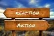 Schild 129 - Aktion
