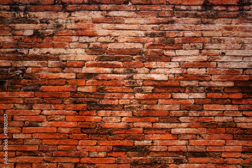 Foto op Plexiglas Wand Old brick wall