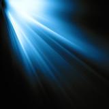 rays on the dark