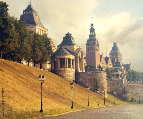Naklejka Stare miasto Szczecin