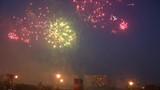 Very beautiful fireworks