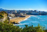 Biarritz Grande Plage in France - 119084545