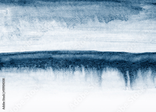grunge brush drips abstract - 119104308