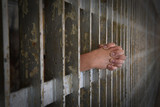 Hands of Prisoner Coming from Cell - 119105915