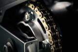 Fototapety motorcycle chain