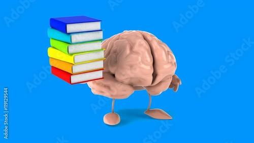 Brain - Computer animation © Julien Tromeur