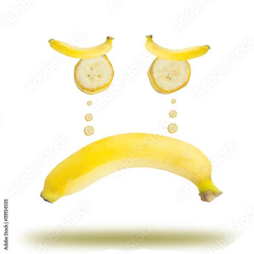 Poster Banana emotional