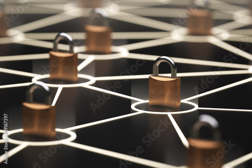 Poster Abstract secure network concept
