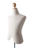 Male mannequin isolated on white background