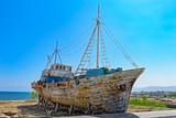 Old Greek fishing boat