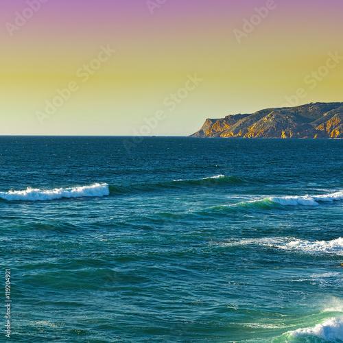 Obraz na Szkle Coast of Atlantic Ocean