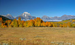 Leinwandbild Motiv Grand Teton Fall