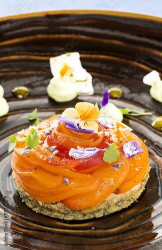 Fotobehang Restaurant Dessert gastronomique
