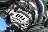 The starter motor of car - 119257583