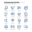 Line Communication Icons
