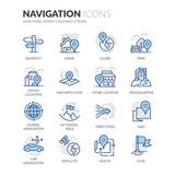 Line Navigation Icons - 119301943