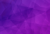 Abstract violet polygonal mosaic background - 119310582