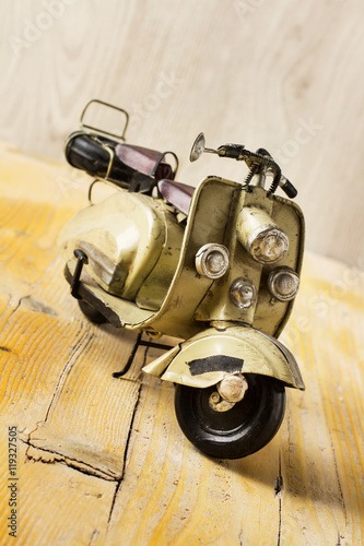 Foto op Canvas Scooter Moto Vespa