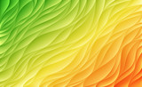 Abstract colorful waves. Vector background.