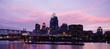 Cincinnati Ohio After Sunset