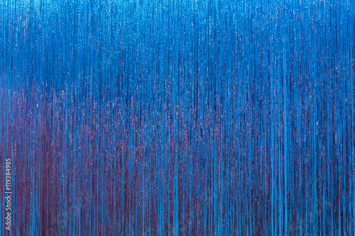 Billede sparkly blue stage curtain