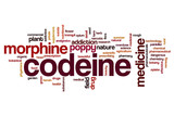 Codeine word cloud