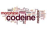 Codeine word cloud