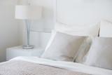 Light gray pillow se...