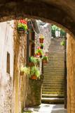 Narrow street in Volterra
