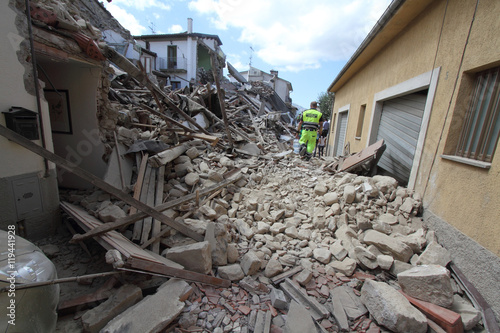 24/8/2016 - Amatrice - Rieti - Italy - The earthquake that destr